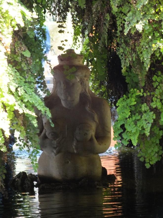 Goddess in Grotto Real Alcazar Garden
