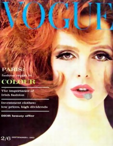 Grace Coddington Vogue 1962