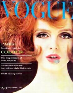 Grace Coddington Vogue 1962