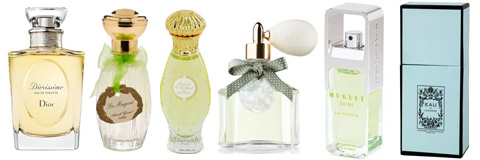 Lily of the valley perfumes