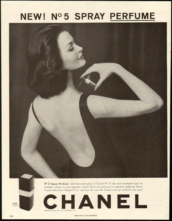 Chanel No. 5 perfume ad