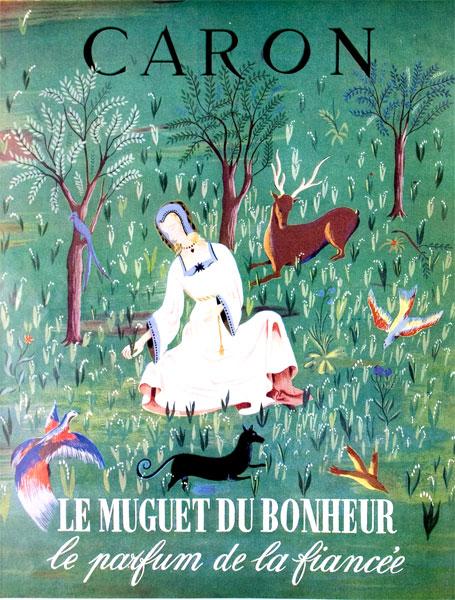 Caron Muguet du Bonheur parfum de fiancee