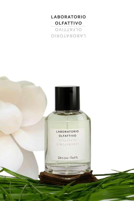 Bottle of Laboratotio Olfattivoa eau de parfum Decou-Vert