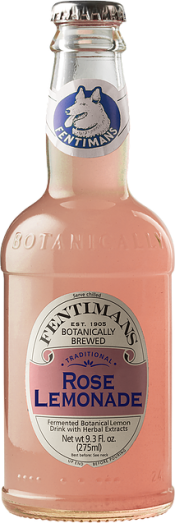 Bottle of Fentiman's Rose Lemonade.