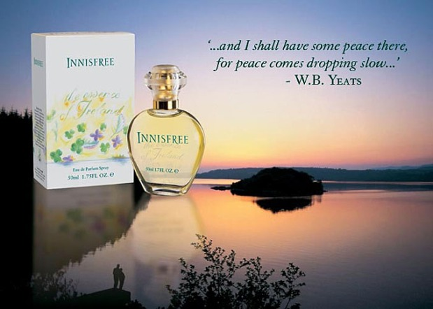 Fragrance Friday: A Perfume Souvenir, Innisfree