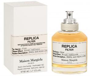 Bottle of fragranced dry oil spray Maison Martin Margiela Replica Filter Glow