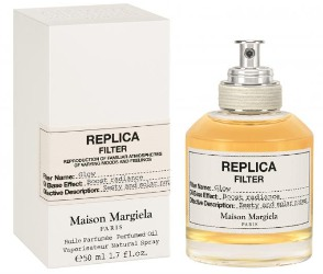 Bottle of fragranced dry oil spray Maison Martin Margiela Replica Filter Glow