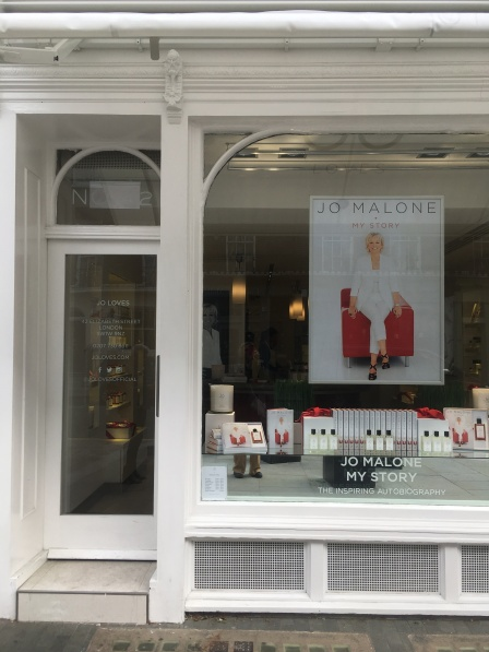 Jo Loves fragrance boutique on Elizabeth Street in London