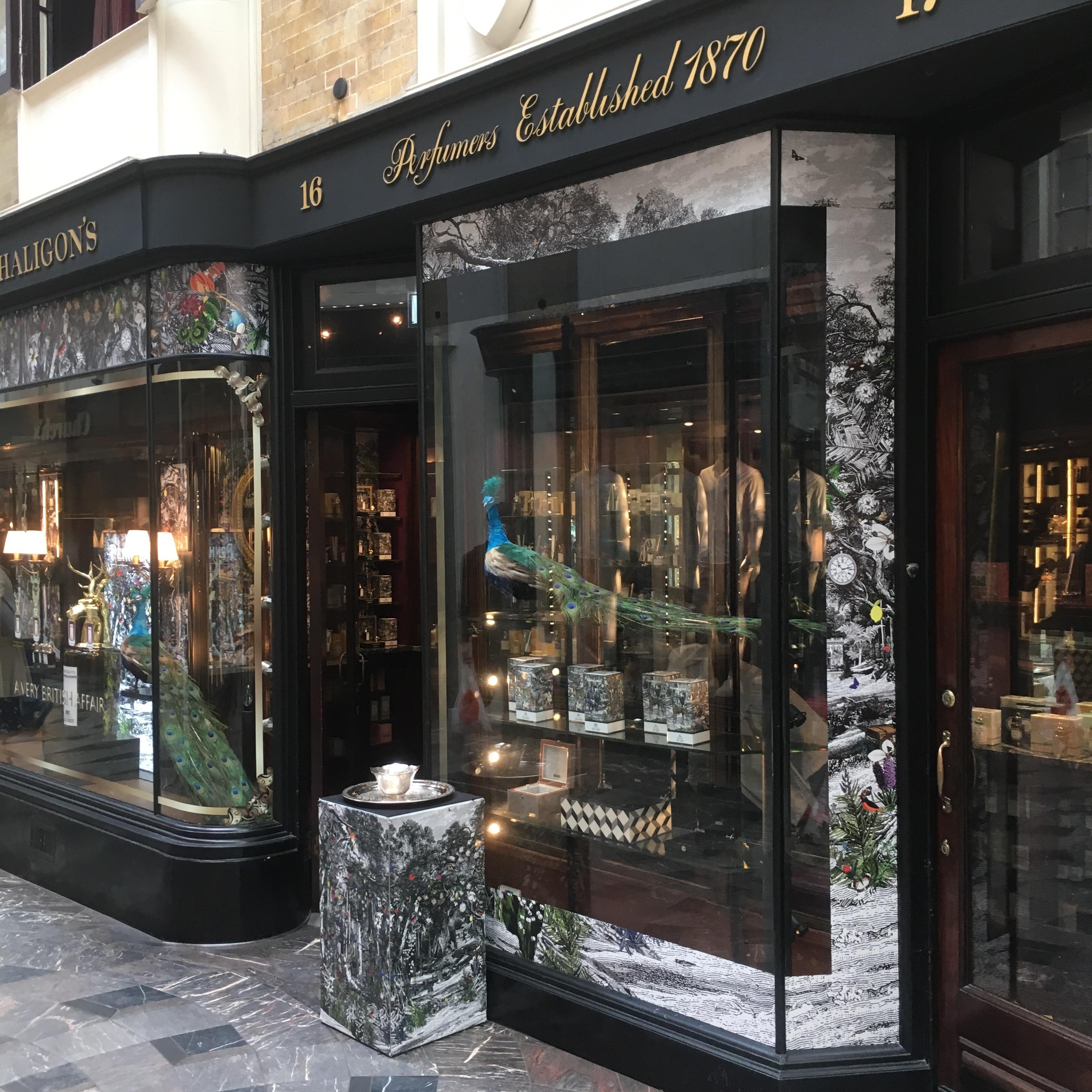 Penhaligon's perfumery in London, Burlington Arcade