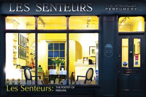 Niche perfumery Les Senteurs in London, Belgravia. Knightsbridge