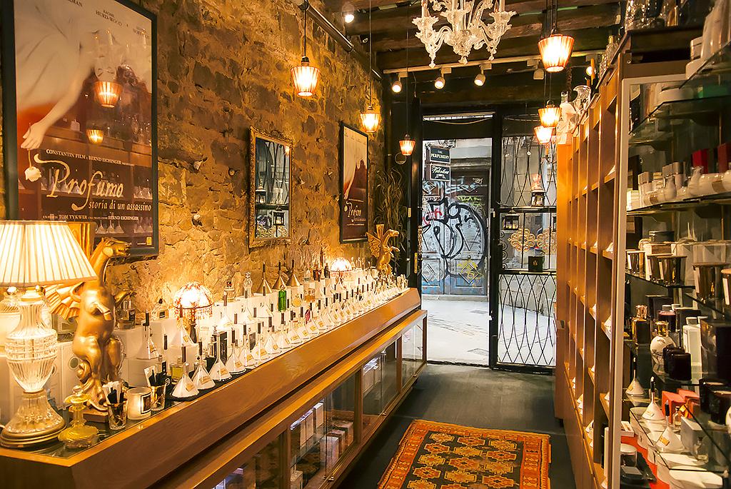 The niche store The Perfumery Barcelona, in the Barri Gotic.