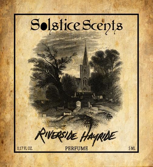 Solstice Scents' fragrance Riverside Hayride perfume
