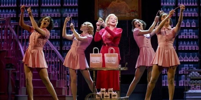 Christine Ebersole as Elizabeth Arden in the musical War Paint