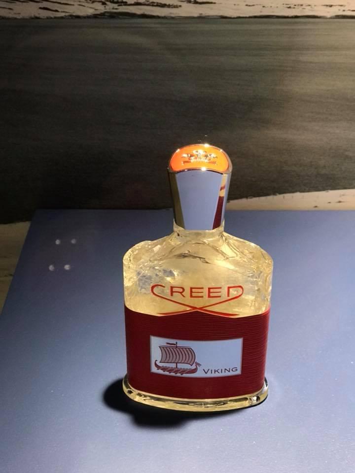 Creed Viking frozen bottle at Boston Neiman Marcus