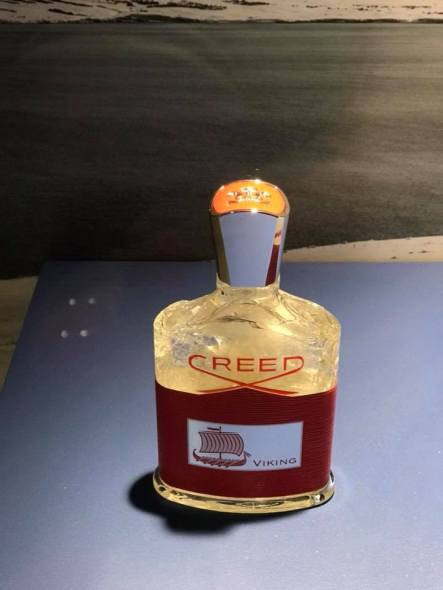 Creed Viking frozen bottle at Boston Neiman Marcus