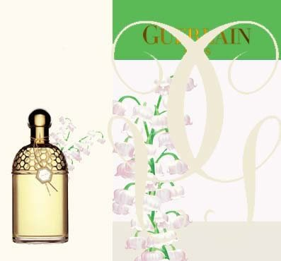 Bottle and package of Guerlain Aqua Allegoria Lilia Bella.