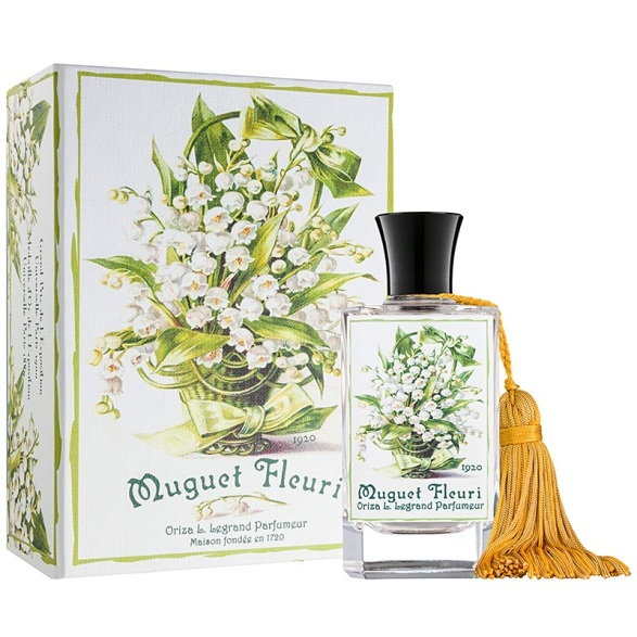 Muguet Fleuri box and bottle