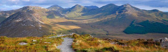 Connemara Mountains, Ireland