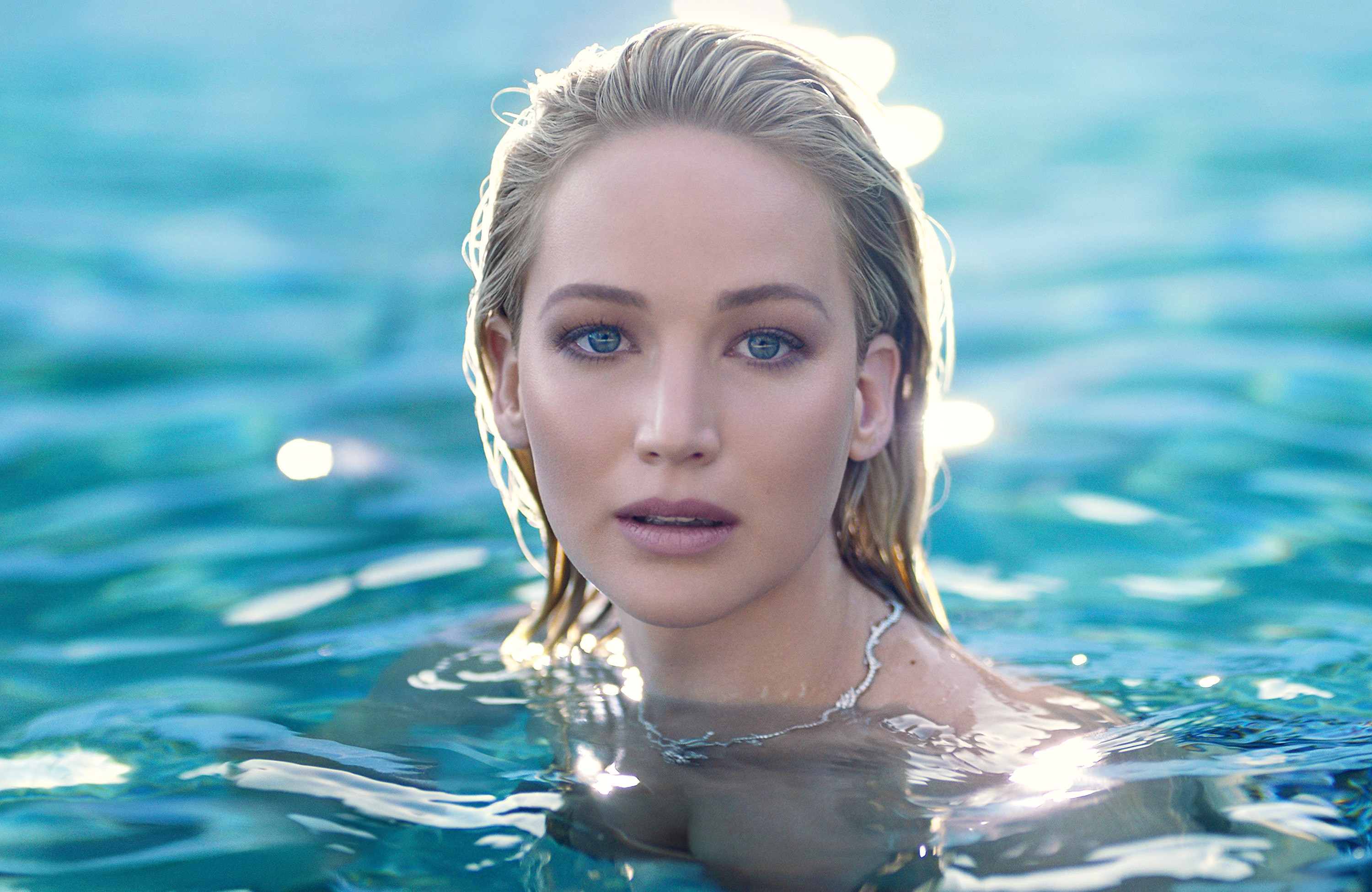 Jennifer Lawrence and new fragrance Joy by Dior.