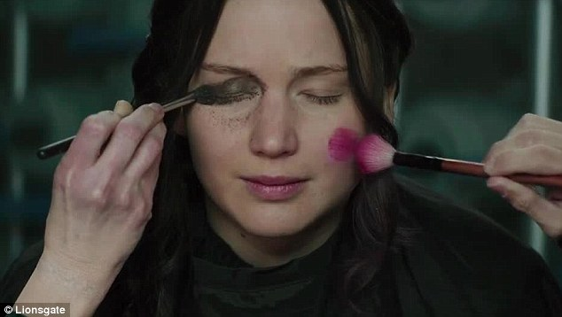 Jennifer Lawrence makeover Hunger Games