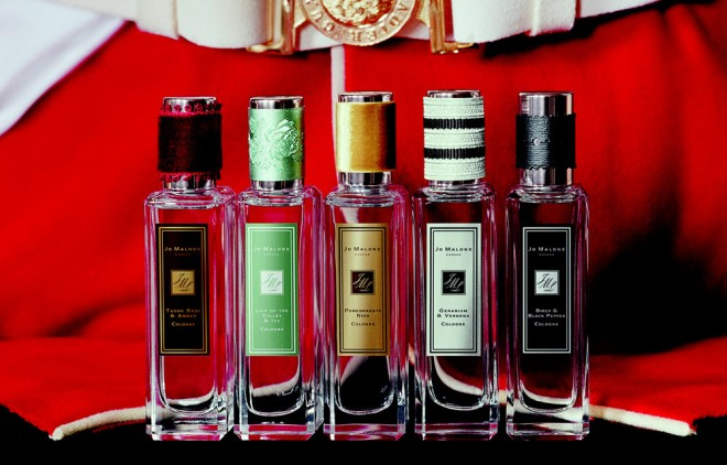Rock the Ages collection of five fragrances from Jo Malone London