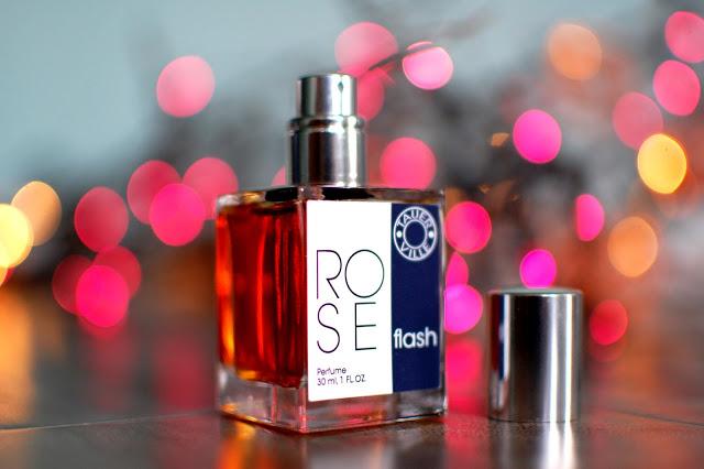 Bottle of Andy Tauer's Tauerville Rose Flash parfum