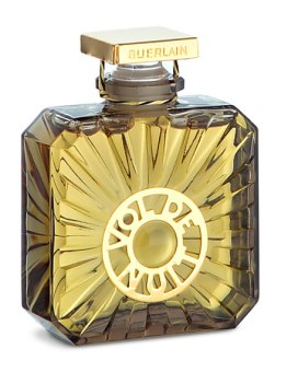 Propeller bottle of Guerlain's Vol de Nuit parfum