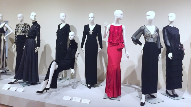 Gowns by designer James Galanos at Phoenix Art Museum retrospective exhibit