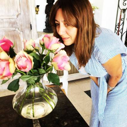 Fragrance writer/blogger Megan in Sainte Maxime