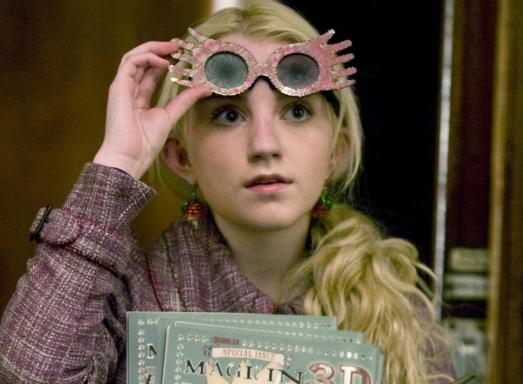 Luna Lovegood wearing Spectre Specs