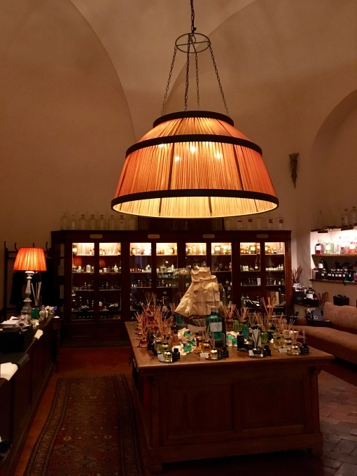 Aquaflor fragrance boutique in Florence, Italy.