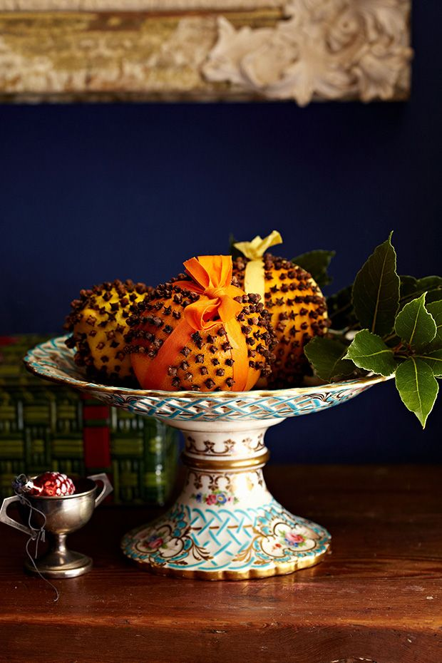 How to make Christmas pomanders with oranges and cloves, Country Living