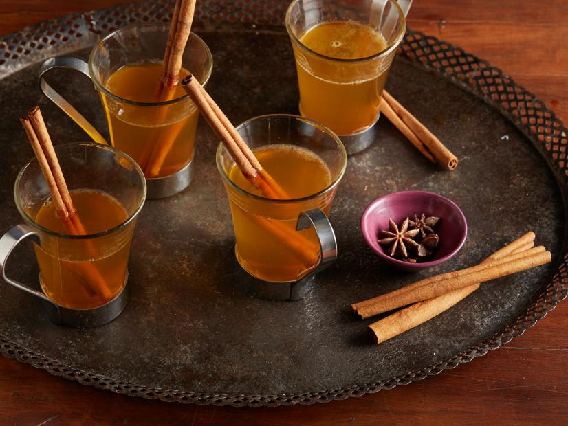 Hot mulled cider, Food Network recipe by Ina Garten