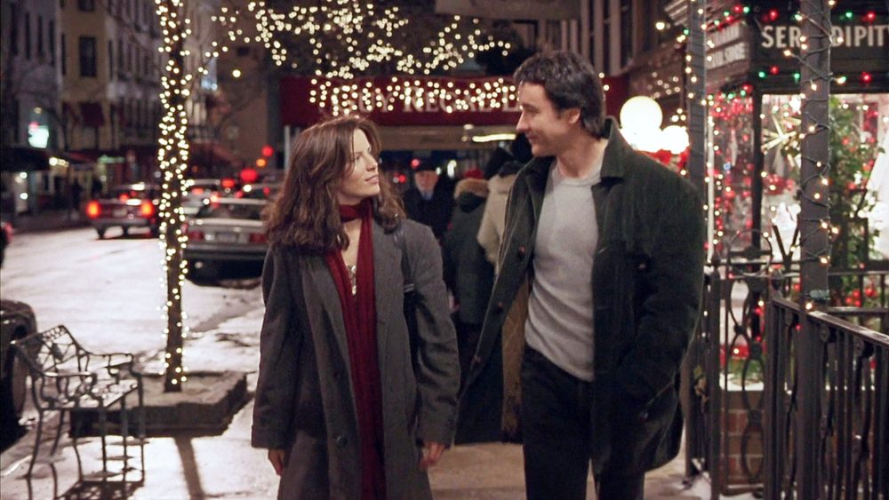 John Cusack and Kate Beckinsale in film Serendipity