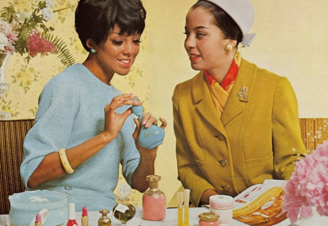 Vintage Avon fragrance ad, 1960s