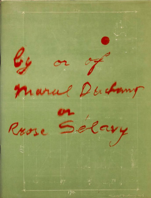 Rrose Selavy book