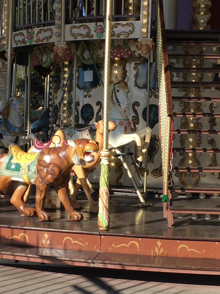 French fairground carousel