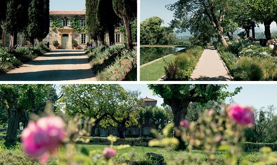 Roses and gardens in Provence home of designer Christian Dior