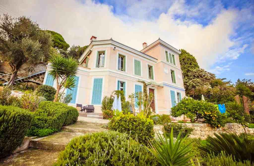 Perfumer's mansion in Grasse
