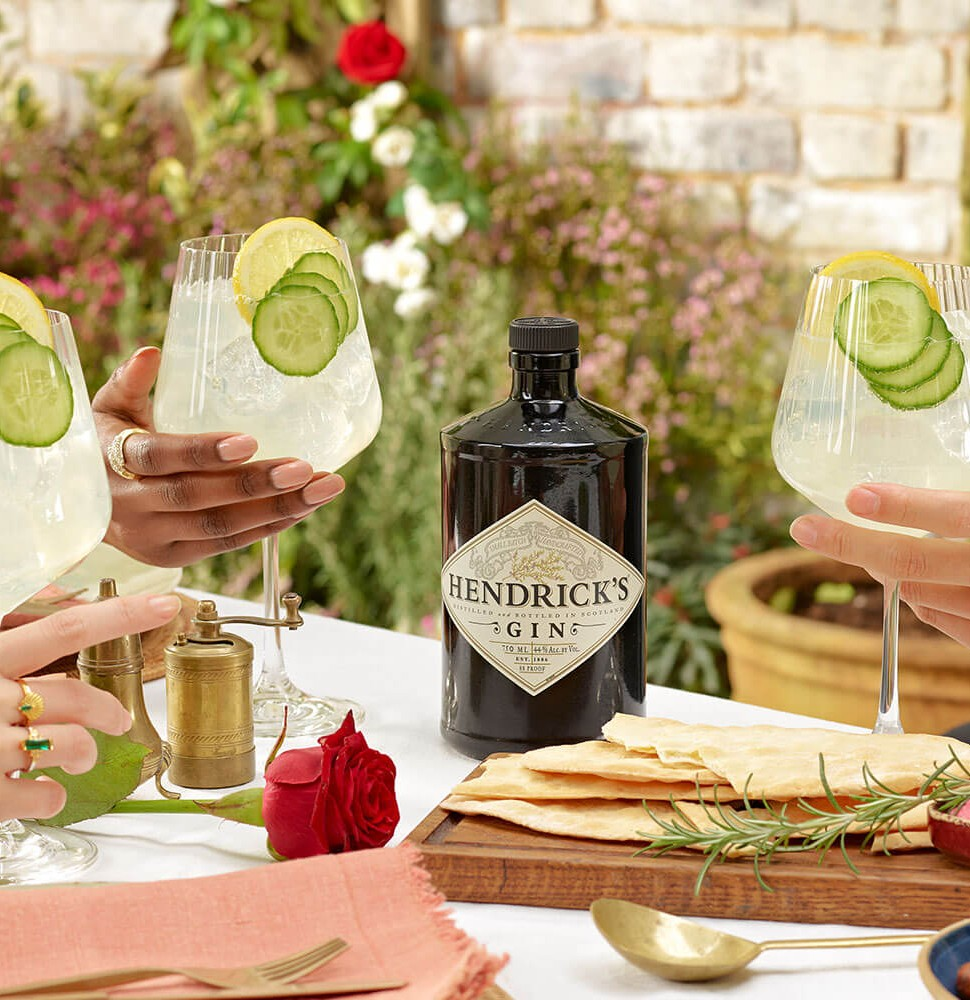Hendrick's Gin cocktail and recipe
